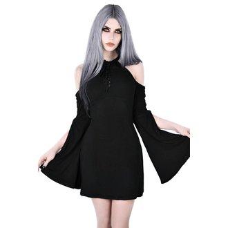 Ženska haljina KILLSTAR - AURA MAIDEN - BLACK, KILLSTAR