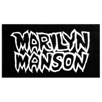 ručnik KILLSTAR - MARILYN MANSON - Avoid The Sun  - Crni, KILLSTAR, Marilyn Manson