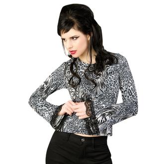 Majica ženska dugi rukav ADERLASS - Evanđeoski Longsleeve Dres Leppard Siva, ADERLASS