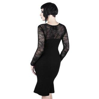 Ženska haljina KILLSTAR - BAT TO THE BONE - BLACK, KILLSTAR
