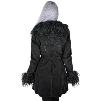 Ženski kaput KILLSTAR - Belladonna Shearling - CRNI, KILLSTAR