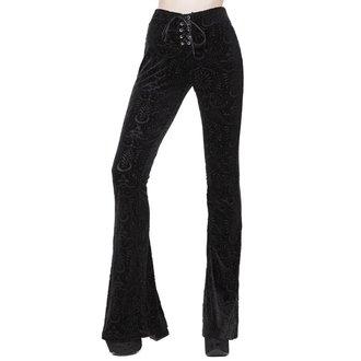 Ženske hlače KILLSTAR - Bellatrix - BLACK, KILLSTAR