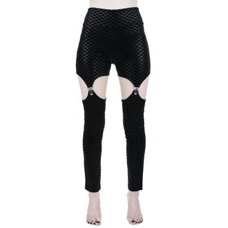 Ženske hlače (tajice) KILLSTAR - Black Sea - CRNE, KILLSTAR
