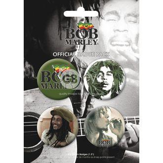 Bedževi - BOB MARLEY - BP0056, GB posters, Bob Marley