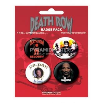 Bedževi Death Row Ploče - BP80085 - Pyramid Plakati