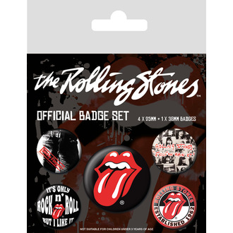 Bedževi Rolling Stones - (&&string0&&) - PYRAMID POSTERS, PYRAMID POSTERS, Rolling Stones