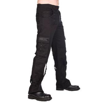Muške hlače Black Pistol - Pyramide - Crne, BLACK PISTOL