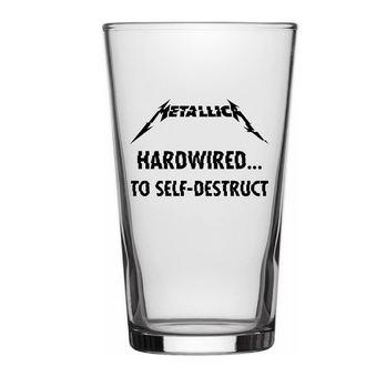 Čaša METALLICA - HARDWIRED TO SELF DESTRUCT - RAZAMATAZ, RAZAMATAZ, Metallica