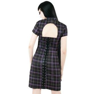 Ženska haljina KILLSTAR - Casey - TARTAN, KILLSTAR