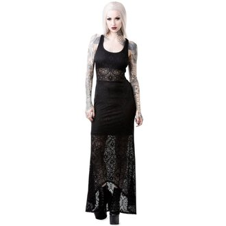 Ženska haljina KILLSTAR - CHELSEA CHILL - CRNA, KILLSTAR