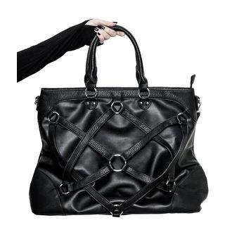 Torba (ručna torba) KILLSTAR - Crowley - BLACK, KILLSTAR