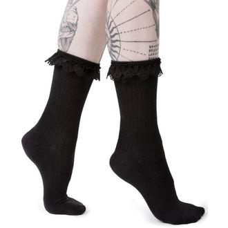 Čarape KILLSTAR - CRUELLA - BLACK, KILLSTAR
