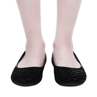 boty dámské (baleríny) KILLSTAR - Cursula - BLACK, KILLSTAR