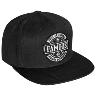 Kapa FAMOUS STARS & STRAPS - CHAOS - BLACK, FAMOUS STARS & STRAPS