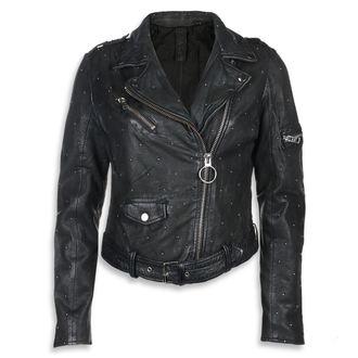 Ženska kožna jakna - Black - NNM, NNM