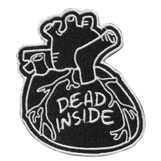 Zakrpa za glačanje KILLSTAR - Dead Inside - BLACK, KILLSTAR