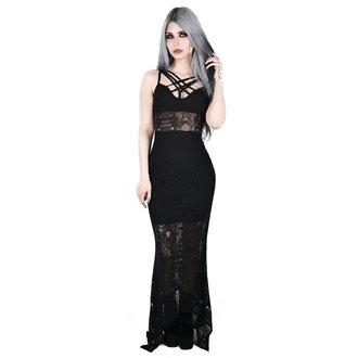 Ženska haljina KILLSTAR - Deadly Beloved - BLACK, KILLSTAR