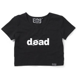 Ženska majica (Top) KILLSTAR - Dead Crop - Black, KILLSTAR