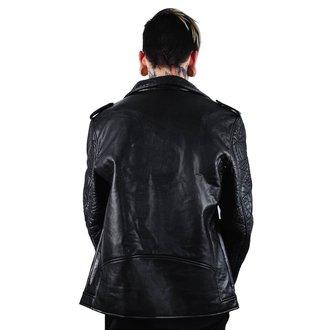 Muška kožna jakna - Death Rawk - KILLSTAR, KILLSTAR