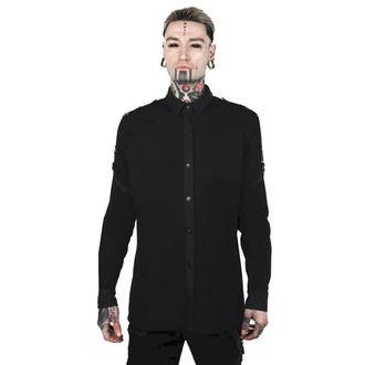 Muška košulja KILLSTAR - DEATH WISH - CRNA, KILLSTAR