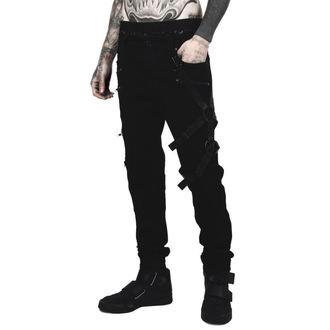 Muške hlače KILLSTAR - DEATH WISH - BLACK, KILLSTAR