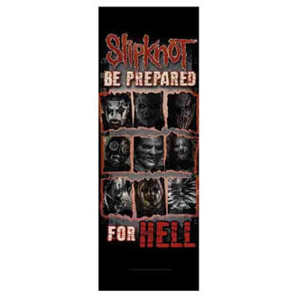 Zastava Slipknot - Be Prepared for Hell, HEART ROCK, Slipknot