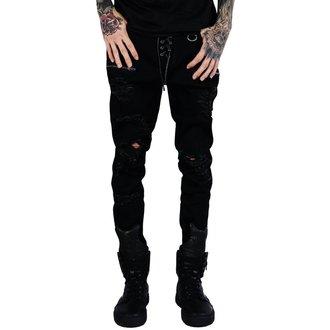 Hlače (unisex) KILLSTAR - Diablo Jeans - CRNE, KILLSTAR