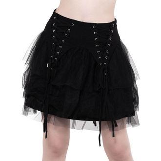 Ženska suknja KILLSTAR - Doom Doll - BLACK, KILLSTAR