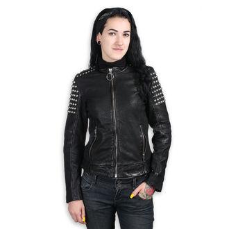 Ženska kožna jakna AC-DC - CRNA - NNM, NNM, AC-DC