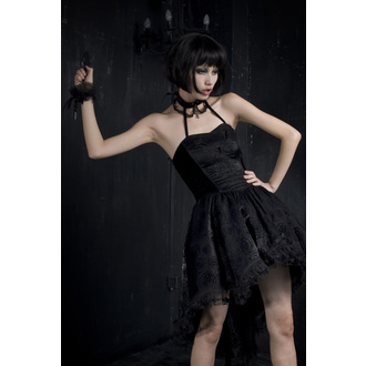 Ženska haljina PUNK RAVE - Black Nymph, PUNK RAVE