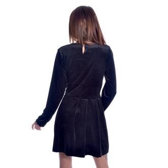 Ženska haljina HEARTLESS - GOTHIC WEDNESDAY - BLACK, HEARTLESS