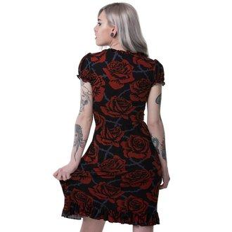 Ženska haljina KILLSTAR - EDEN DOLL - CRNA, KILLSTAR
