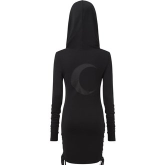 Ženska haljina KILLSTAR - ELEANOR - BLACK, KILLSTAR