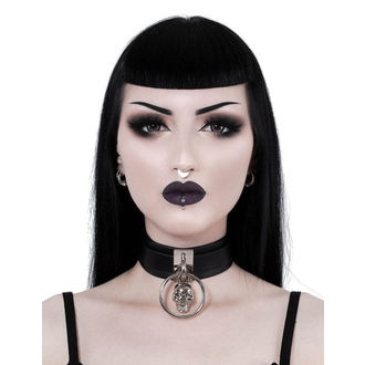 Ogrlica KILLSTAR - Elena Skull - BLACK, KILLSTAR