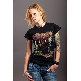 Ženska metal majica Aerosmith - Band - HYBRIS, HYBRIS, Aerosmith