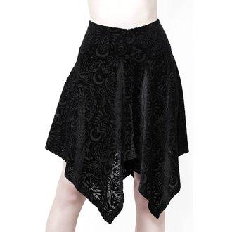 Ženska suknja KILLSTAR - Etta Skater - BLACK, KILLSTAR