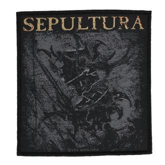 Zakrpa SEPULTURA - THE MEDIATOR - RAZAMATAZ, RAZAMATAZ, Sepultura