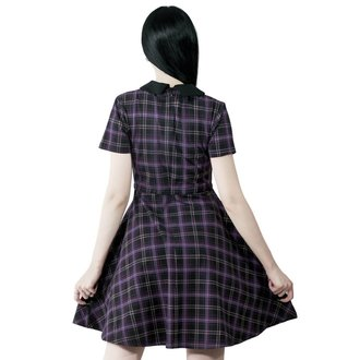 Ženska haljina KILLSTAR - Feri - TARTAN, KILLSTAR