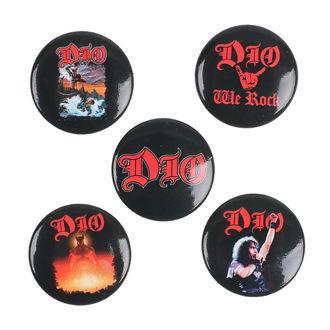 Bedževi Dio - We Rock - RAZAMATAZ, RAZAMATAZ, Dio