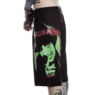 Kratke hlače muške (kupaći) KILLSTAR - Marilyn Manson - Devil - Black, KILLSTAR, Marilyn Manson