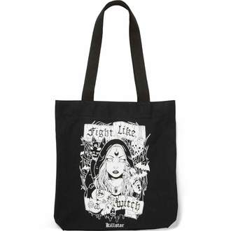 Torba KILLSTAR - FIGHT LIKE A WITCH TOTE - BLACK, KILLSTAR
