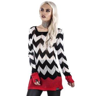 Ženski džemper KILLSTAR - FIREWALK - BLACK, KILLSTAR