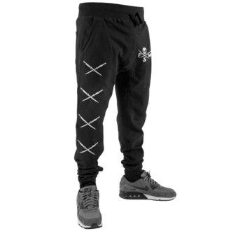 Muške pantole FAMOUS STARS & STRAPS - STICK IT SWEAT - BLACK, FAMOUS STARS & STRAPS