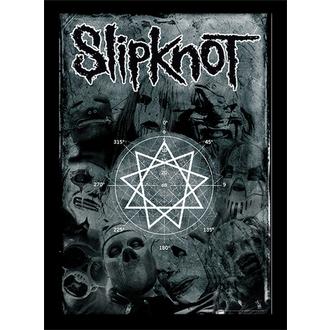 Uramljen poster Slipknot - (&&string0&&) - PYRAMID POSTERS, PYRAMID POSTERS, Slipknot