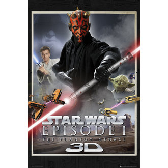 plakat Star Wars - Episode 1 Jedan List - GB posters, GB posters