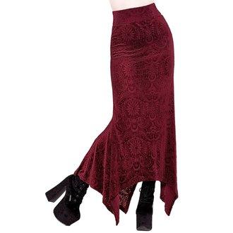 Ženska suknja KILLSTAR - Genesis - VINO, KILLSTAR