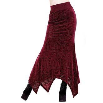 Ženska suknja KILLSTAR - Genesis - VINO - KSRA000044