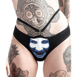 Gaćice ženske KILLSTAR - Marilyn Manson - God of Fuck - Black, KILLSTAR, Marilyn Manson