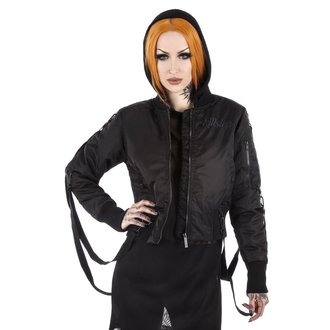 bunda dámská (bomber) KILLSTAR - Goth Doll Street  - Black, KILLSTAR