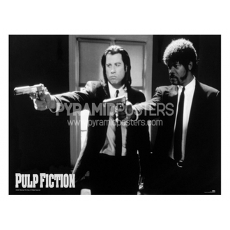 plakat - Pulp Fiction (B & W Guns) - GPP51003, PYRAMID POSTERS
